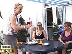 German, Brunette, Amateur, Lesbian