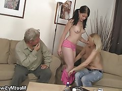 Granny, Mature, Old and Young, Teen