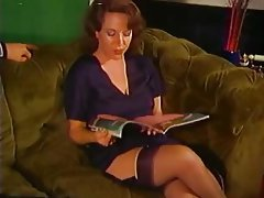 Cumshot, MILF, Old and Young, Stockings