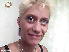 Dildo, German, Granny, Mature