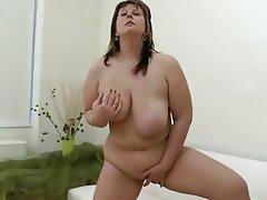 Babe, BBW, Masturbation, Big Tits