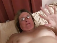 Amateur, British, Granny, Masturbation