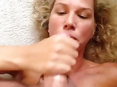 handjob ends in facial milfs