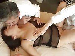 Group Sex, Cuckold, Japanese, Mature