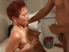 MILF, Mature, Masturbation, Handjob