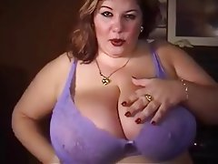 BBW, Big Boobs, Masturbation, Mature, POV
