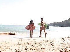 Anal, Beach, Brazil, Cumshot