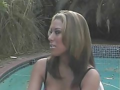 Blowjob, Facial, Lingerie, Pantyhose