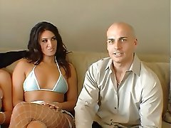 Blowjob, Facial, Group Sex, Blonde