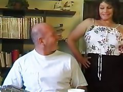 Facial, Hairy, Mature, Stockings