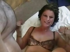 British, Facial, Gangbang